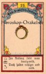 Der Ring, Horoskop mit Lenormand